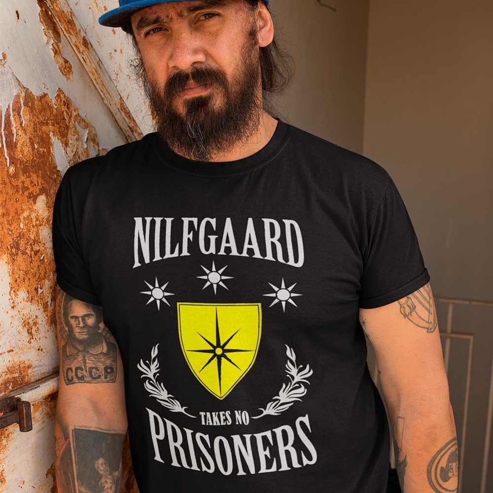 Camiseta The Witcher Nilfgaard takes no prisoners