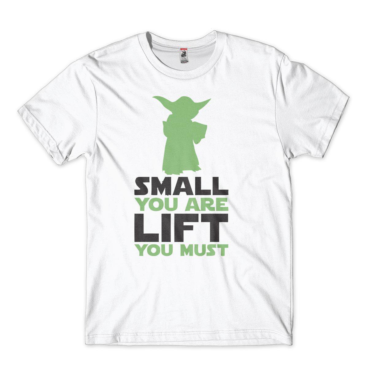 Camiseta Treino Masculina Stars War Mestre Yoda Lift you Must