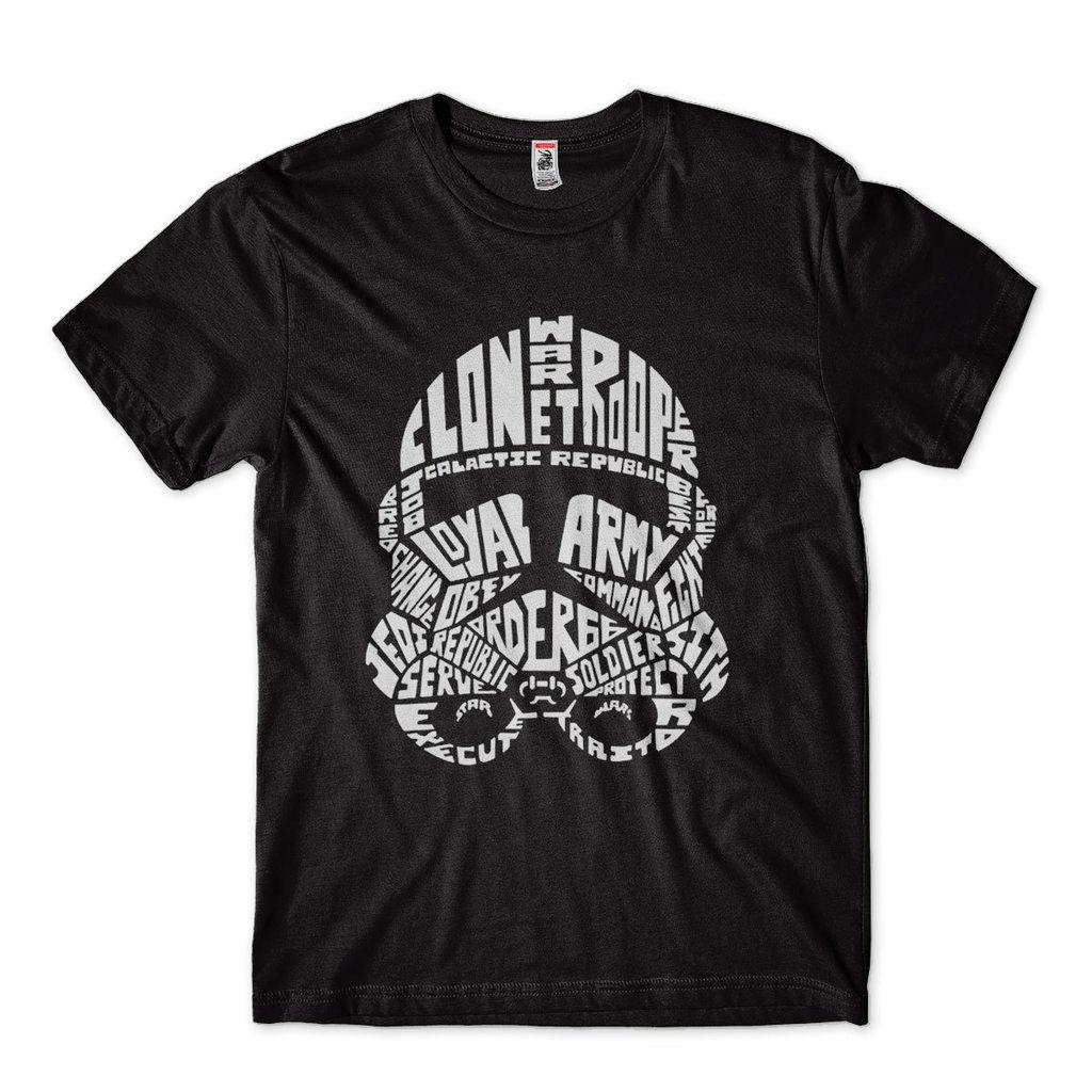 Camiseta Trooper Star Wars Masculina tamanho M Preta