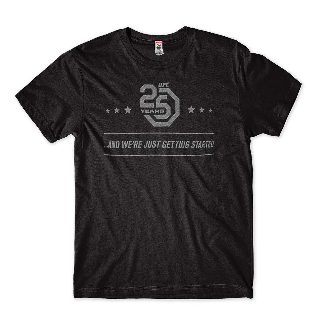 camiseta MMA 25 anos comemorativa jiu jitsu