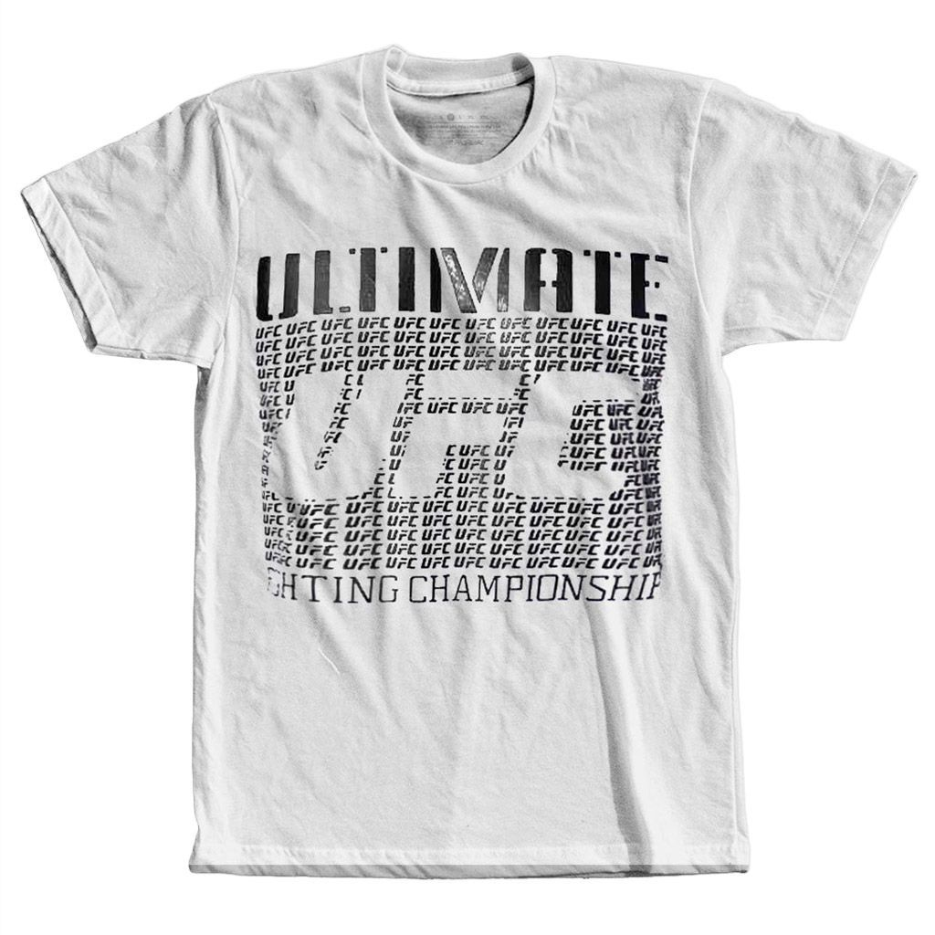 camiseta ufc ultimate fighting championship camisa MMA