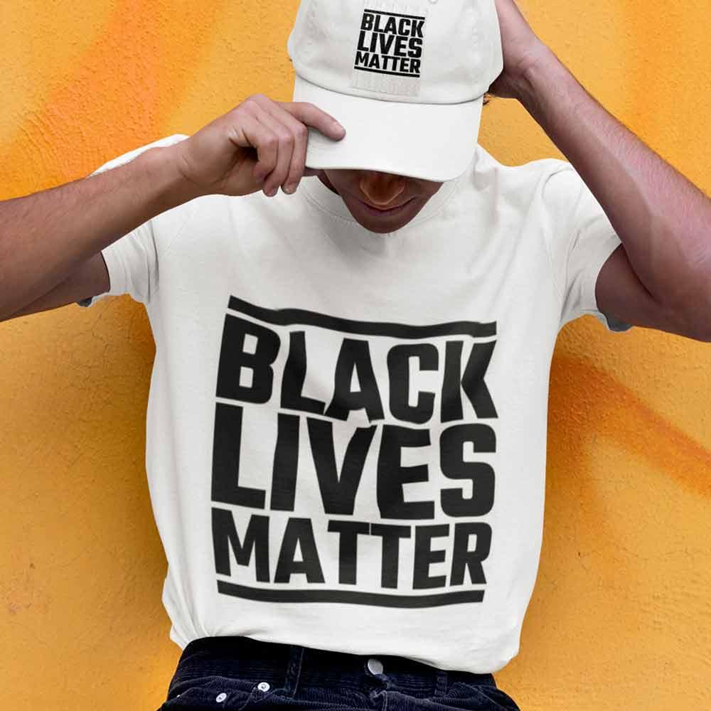 camiseta vidas negras importam branca
