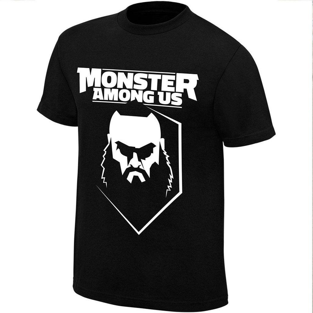 Camiseta Wwe Braun Strowman Monster Among Us