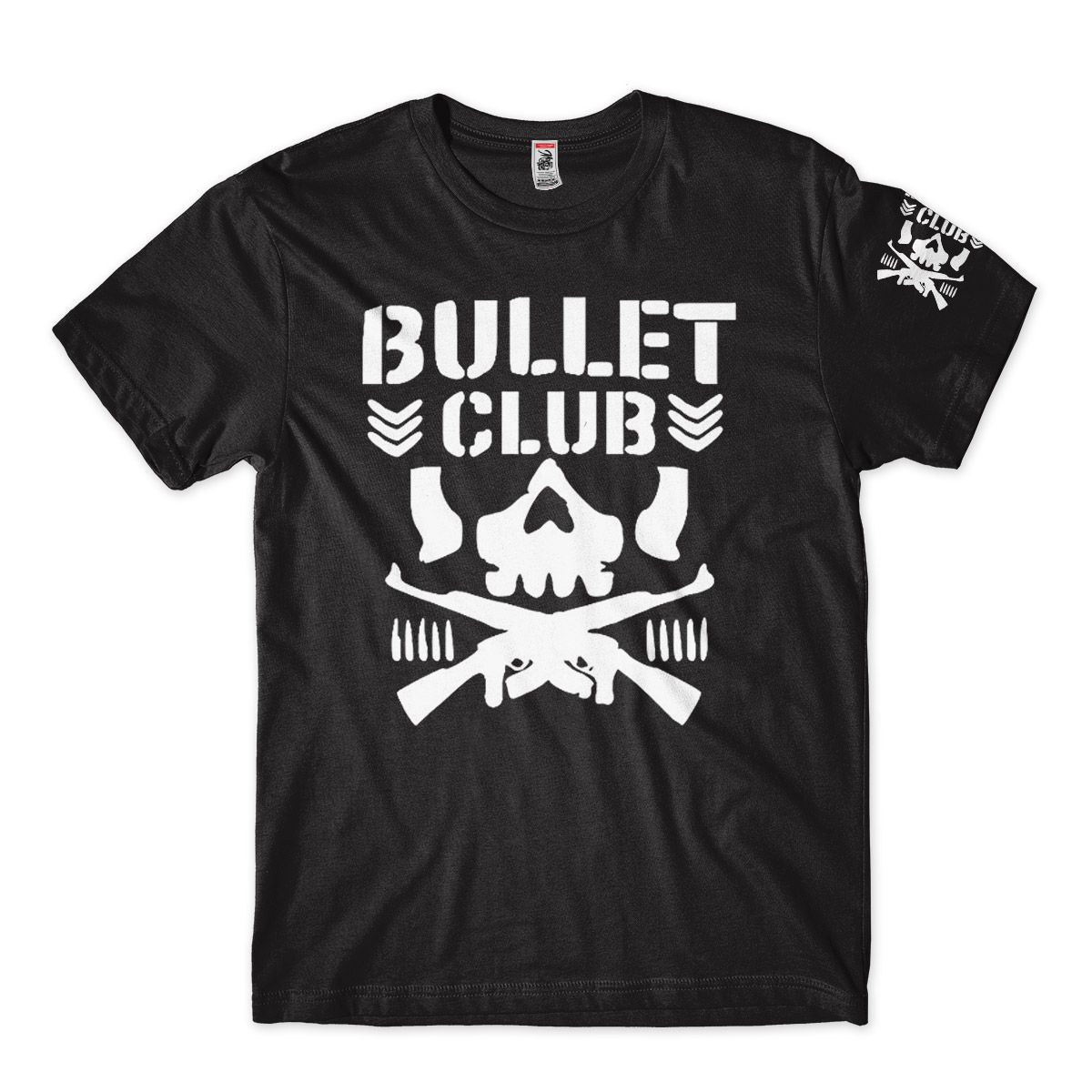 Camiseta Wwe Bullet Club Camisa Feminina Pro Wrestling Preta