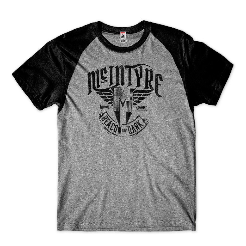 Camiseta WWE Drew Mcintyre Masculina Camisa Raglan