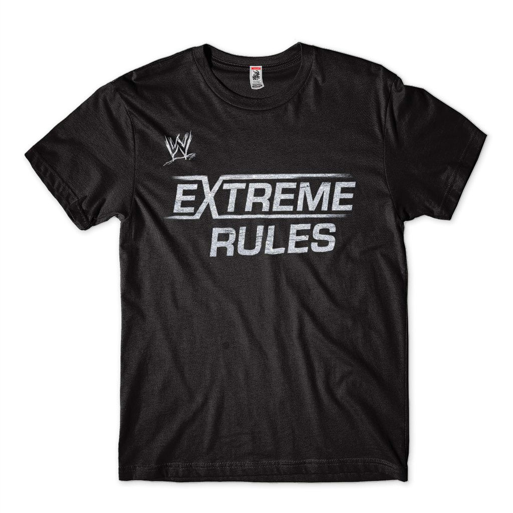 Camiseta Wwe Masculina Wrestlemania Extreme Rules Preta
