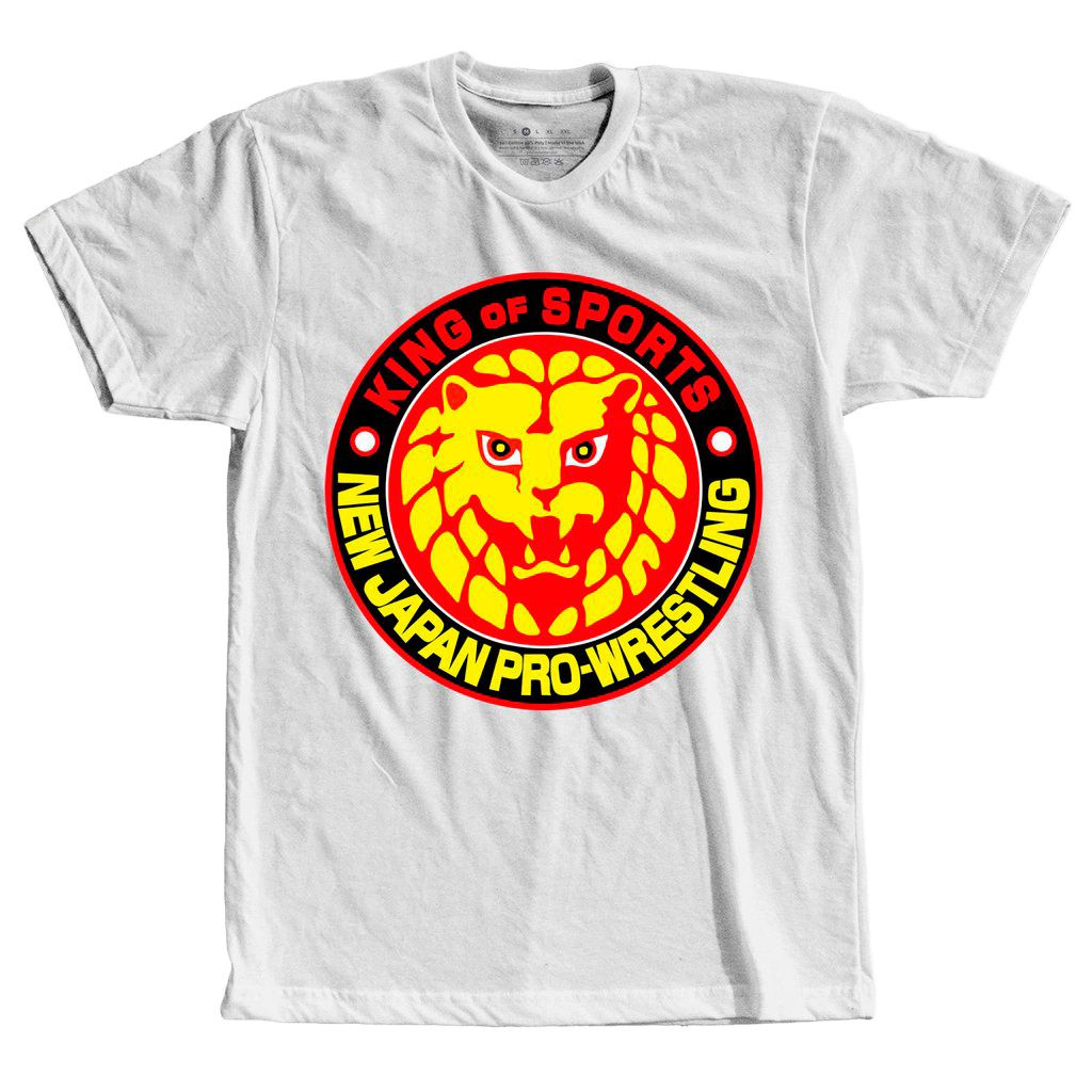 Camiseta Wwe Njpr New Japan Pro Wrestling Logo Camisa