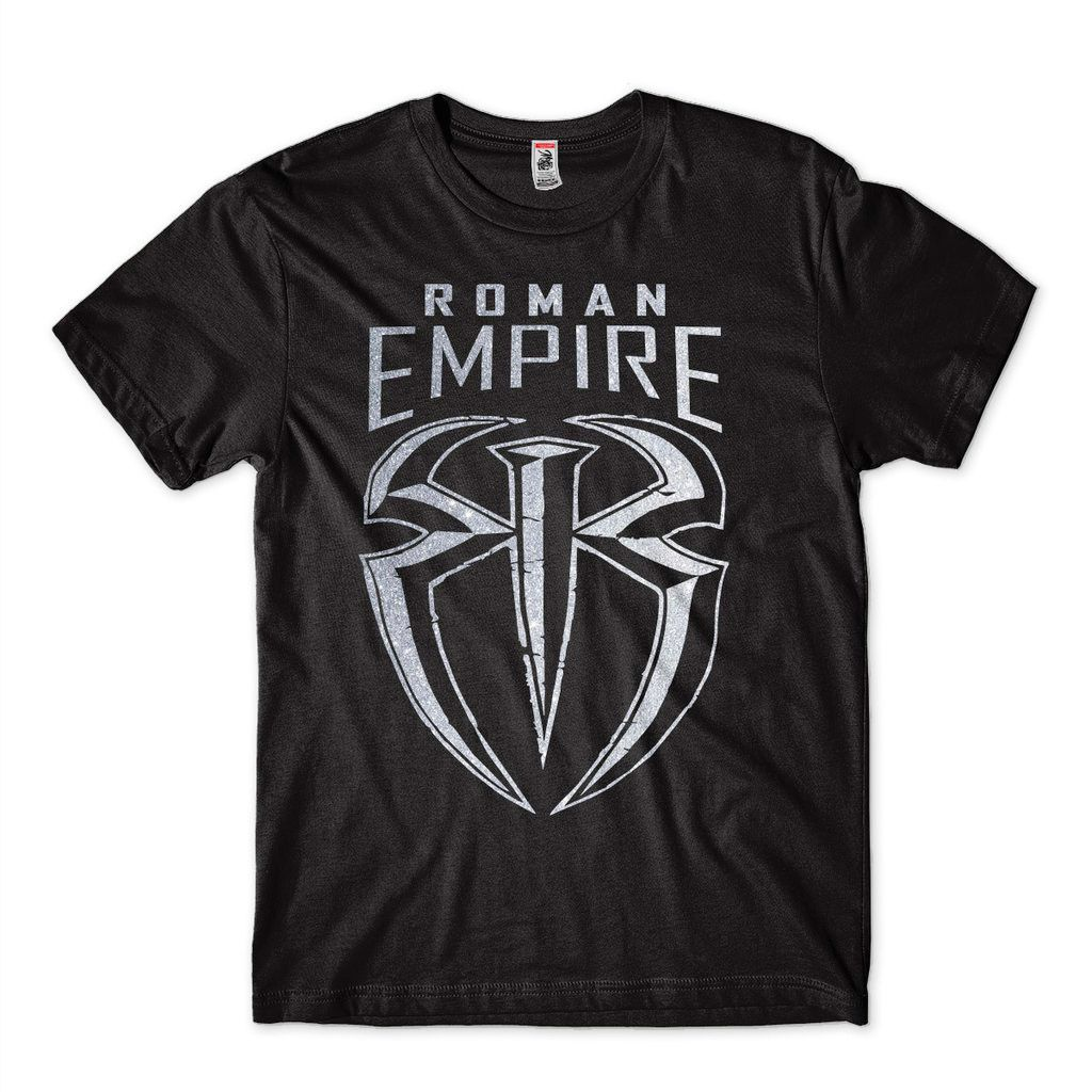 Camiseta WWE Roman Reings Empire Masculina The Shield