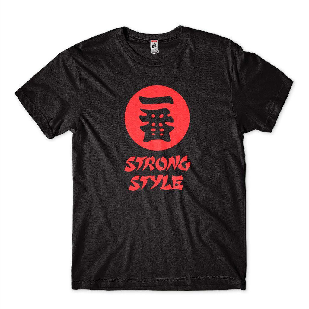 Camiseta WWE Shinsuke Nakamura Strong Style Smackdown IWGP
