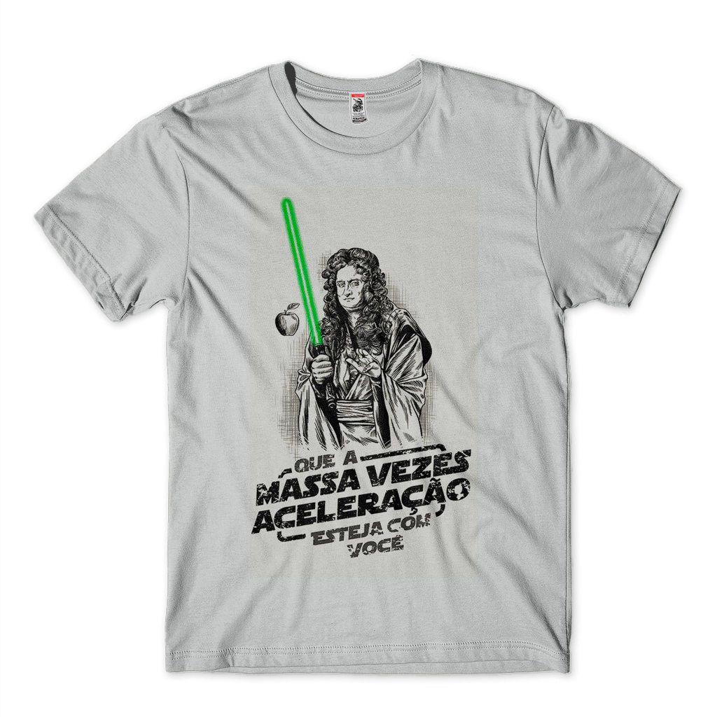 Camisetas Cientistas Engracada Masculina tamanho G Cinza