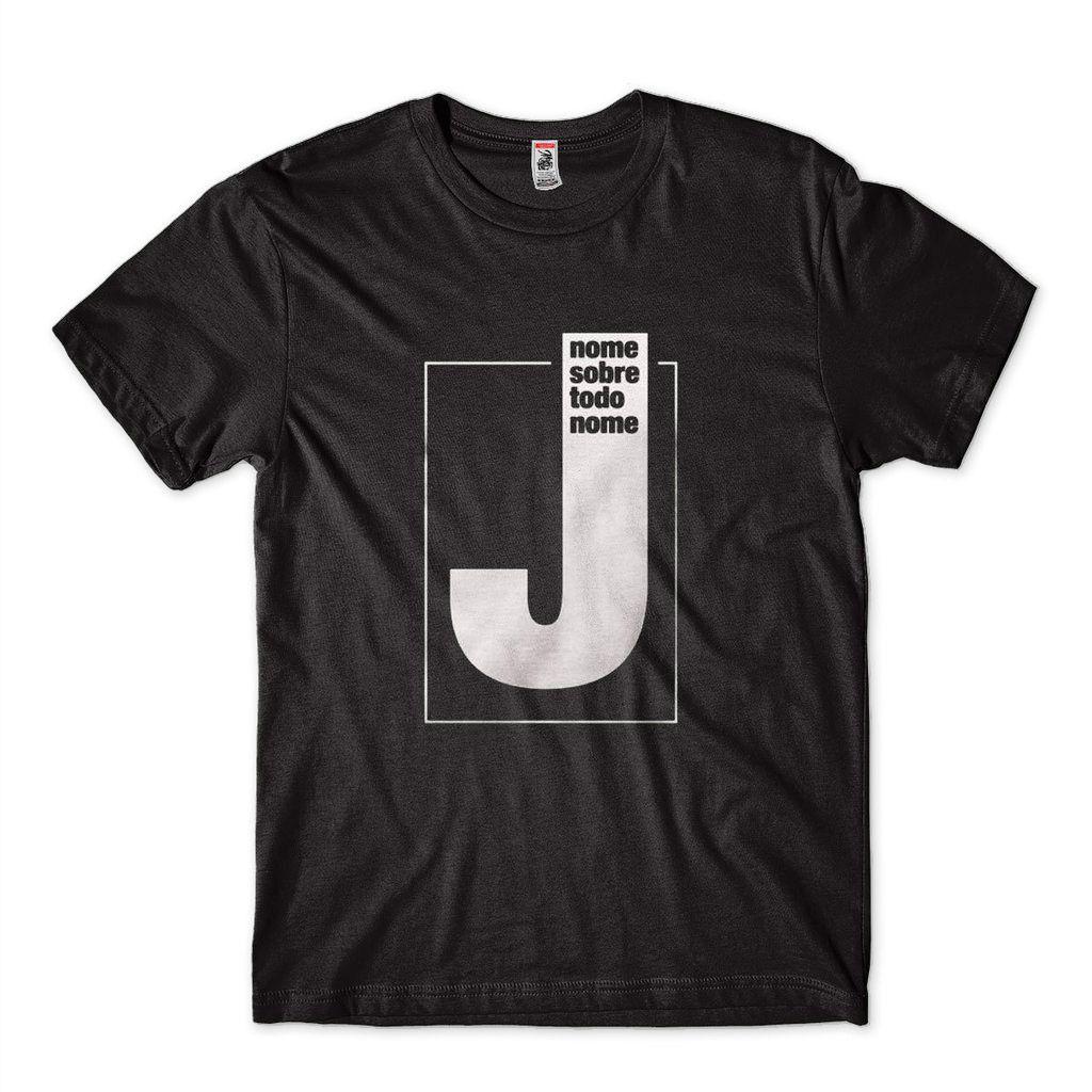 Camisetas Com Frases De Jesus Masculina Camisa Preta