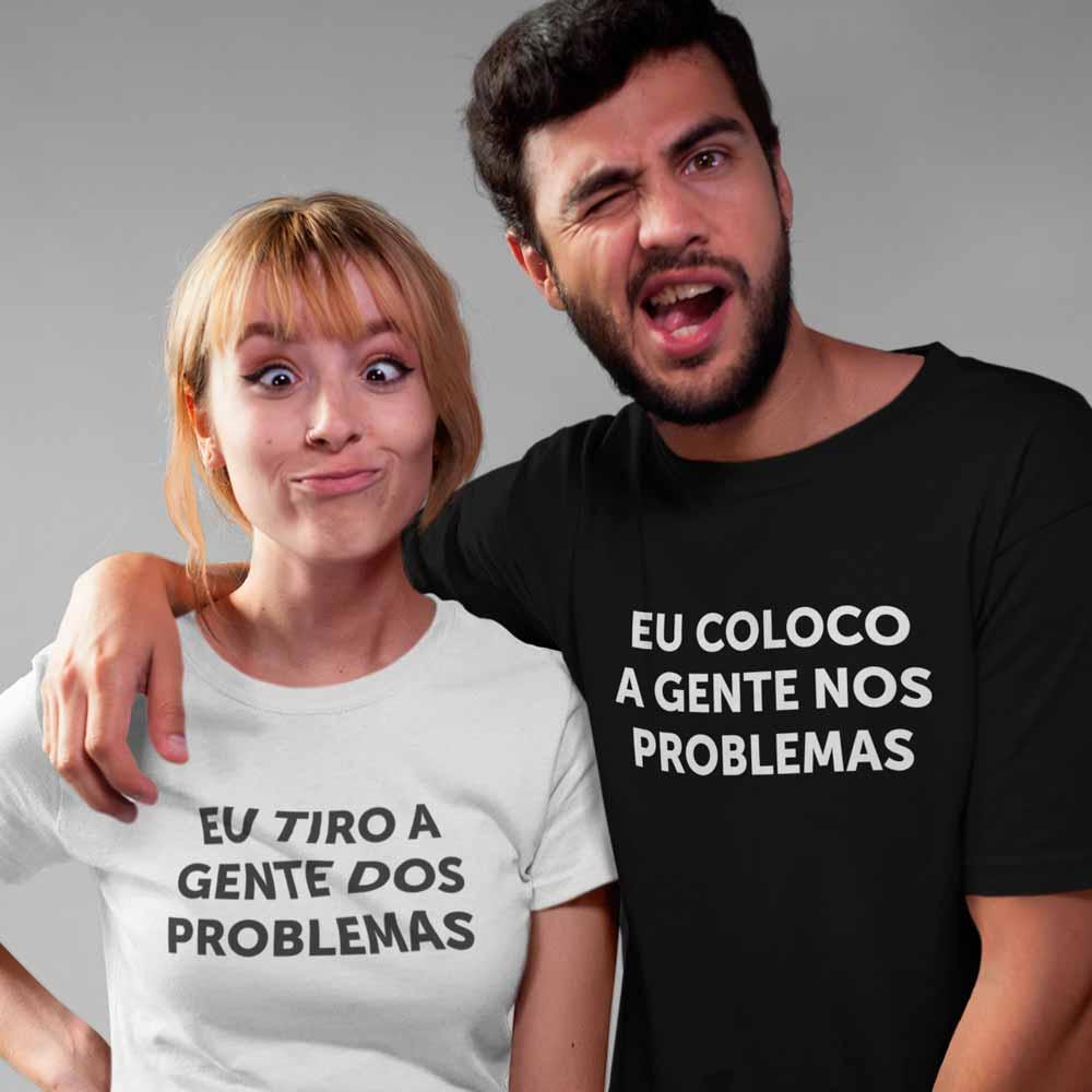 camisetas engraçadas para casal