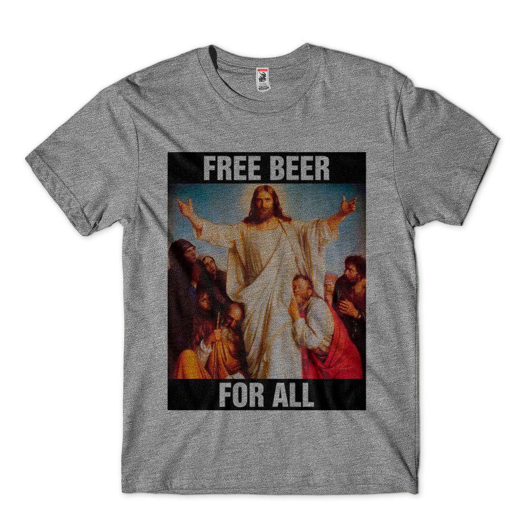 Camisetas Estampas Diferentes Cerveja De Graca Pra Todos
