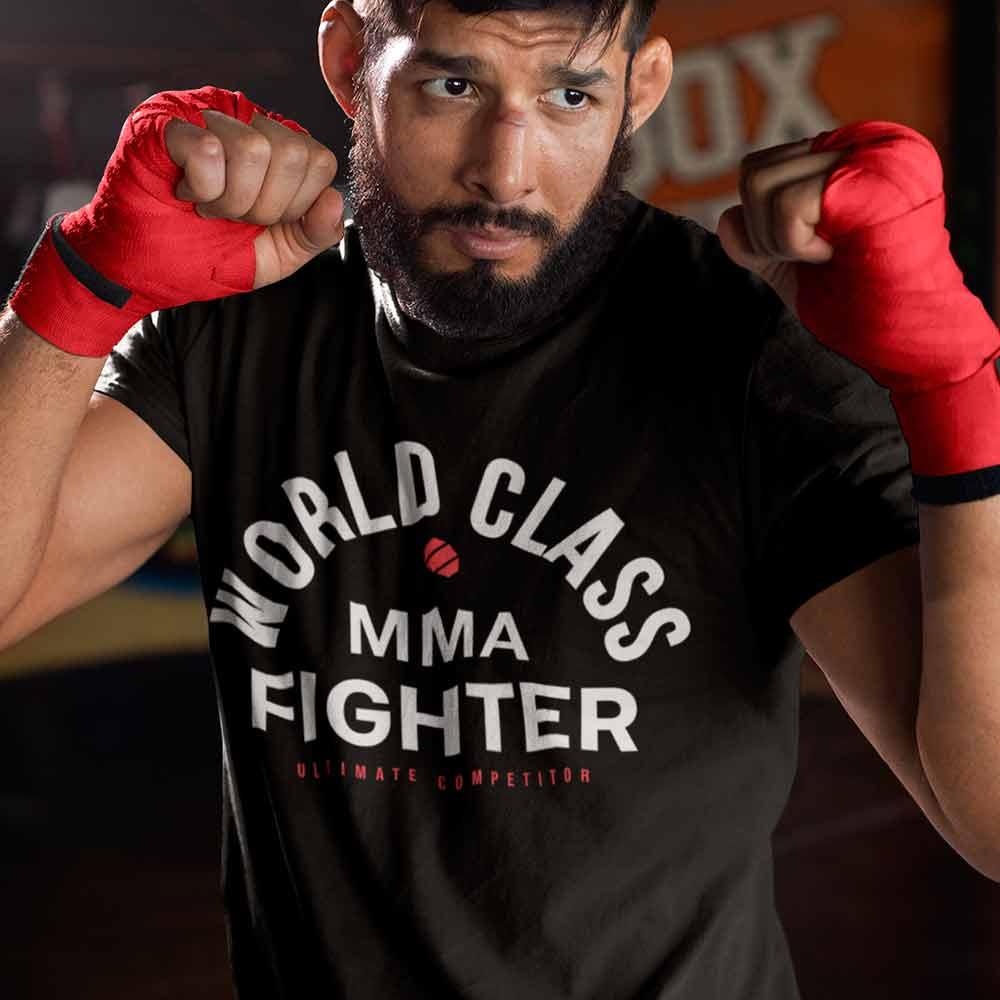 camisetas jiu jitsu treino  MMA world class