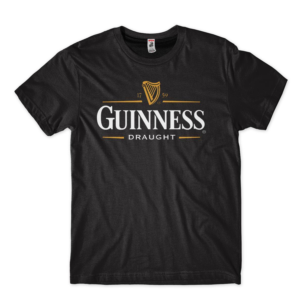 Camisetas Legais Cerveja Guiness Balada Masculina