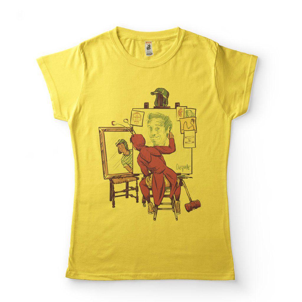 camisetas legais femininas chespirito chaves
