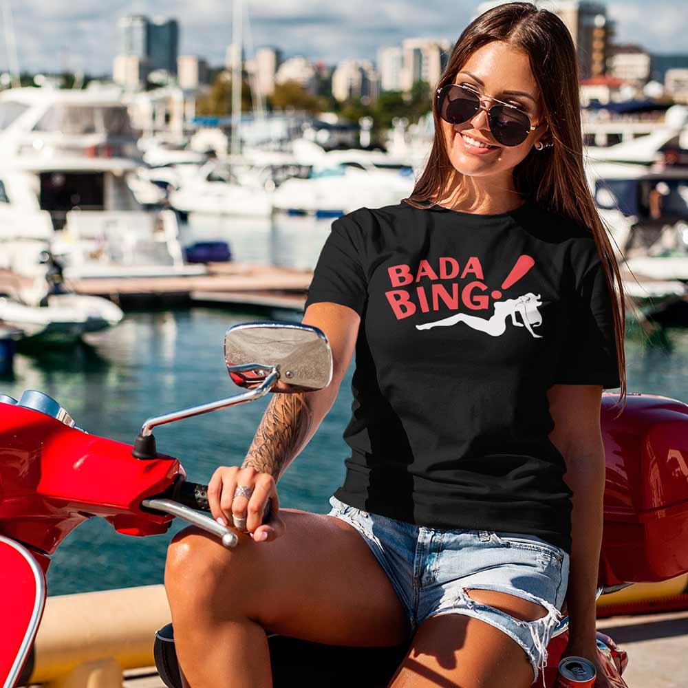 Camisetas Os Sopranos Camiseta The SOPRANOS Bada Bing