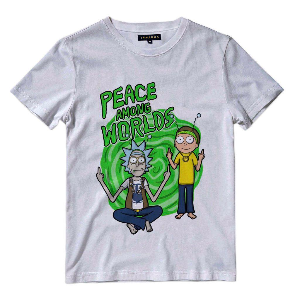 Camisetas Rick And Morty Beth Jerry Summer Séries Desenhos