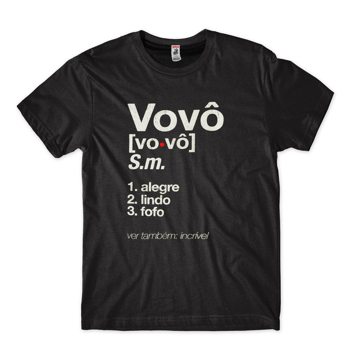 ideia de presente para avo camiseta com frase