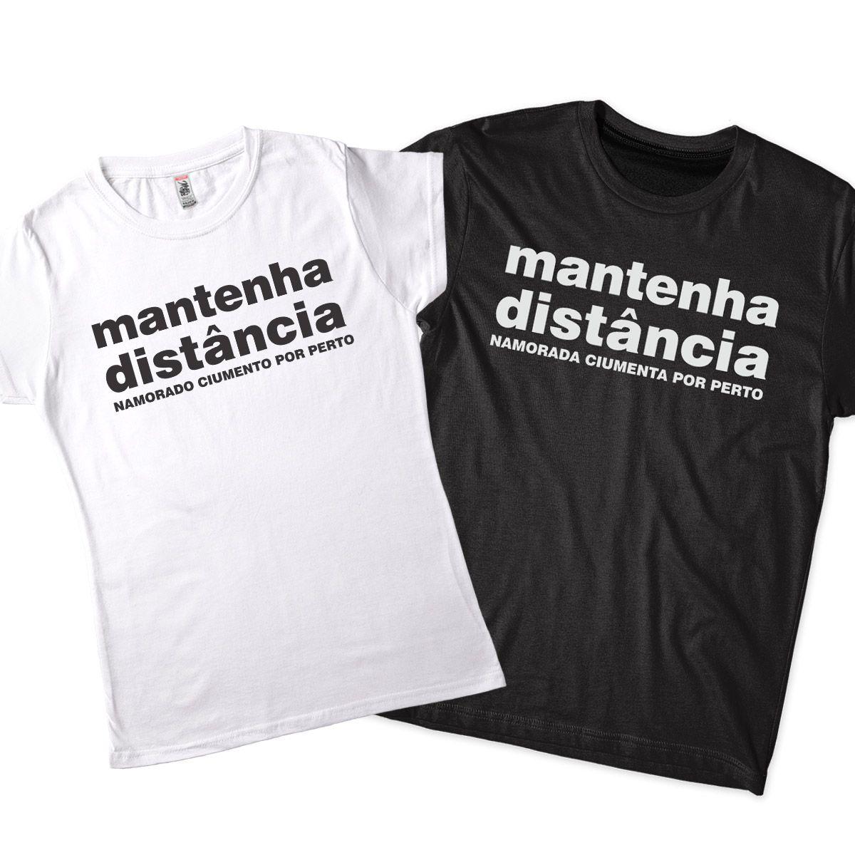 kit camiseta namorados ciumentos ideia de presente