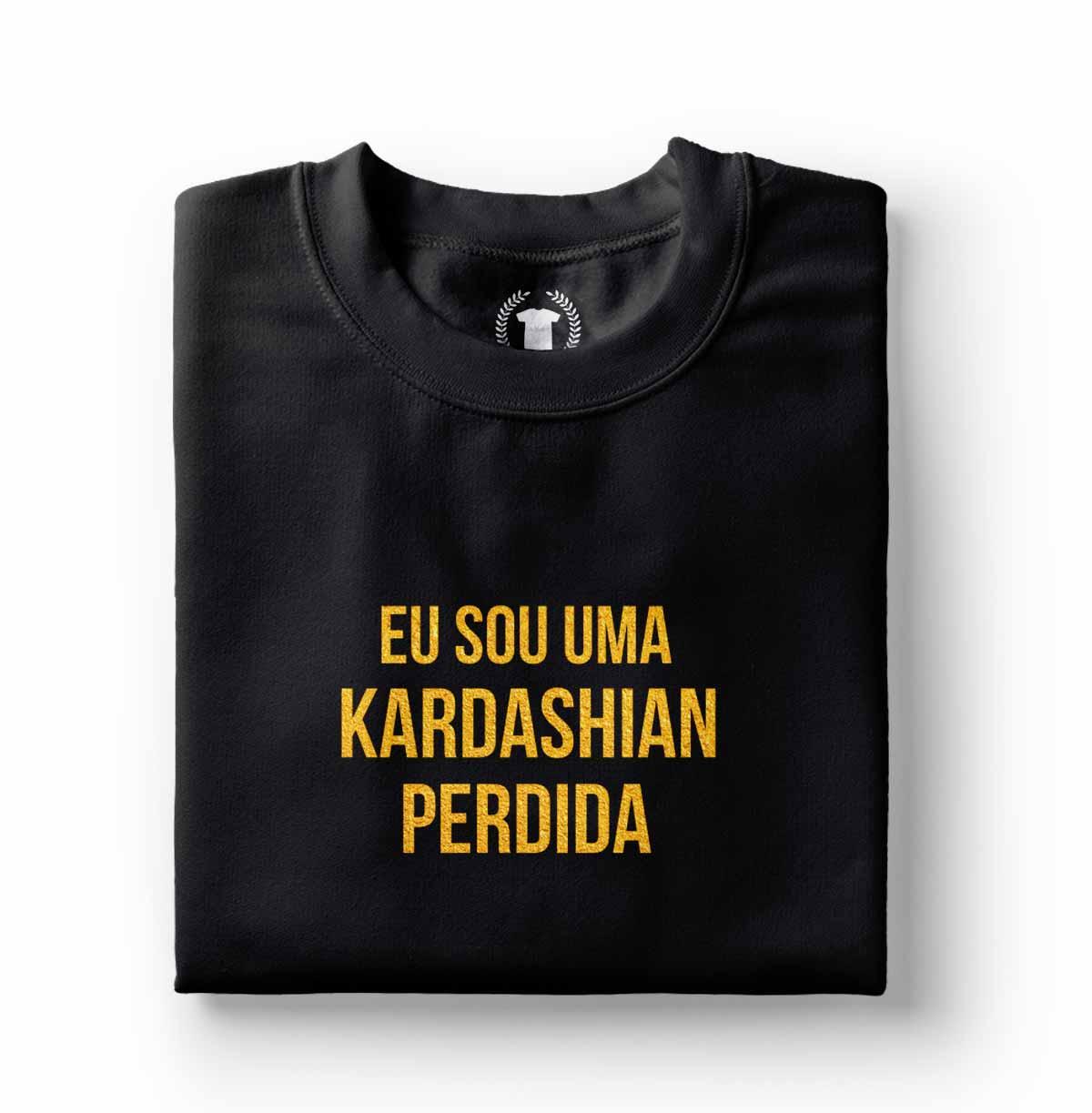 roupa feminina engracada camisa sou uma kardashian perdida