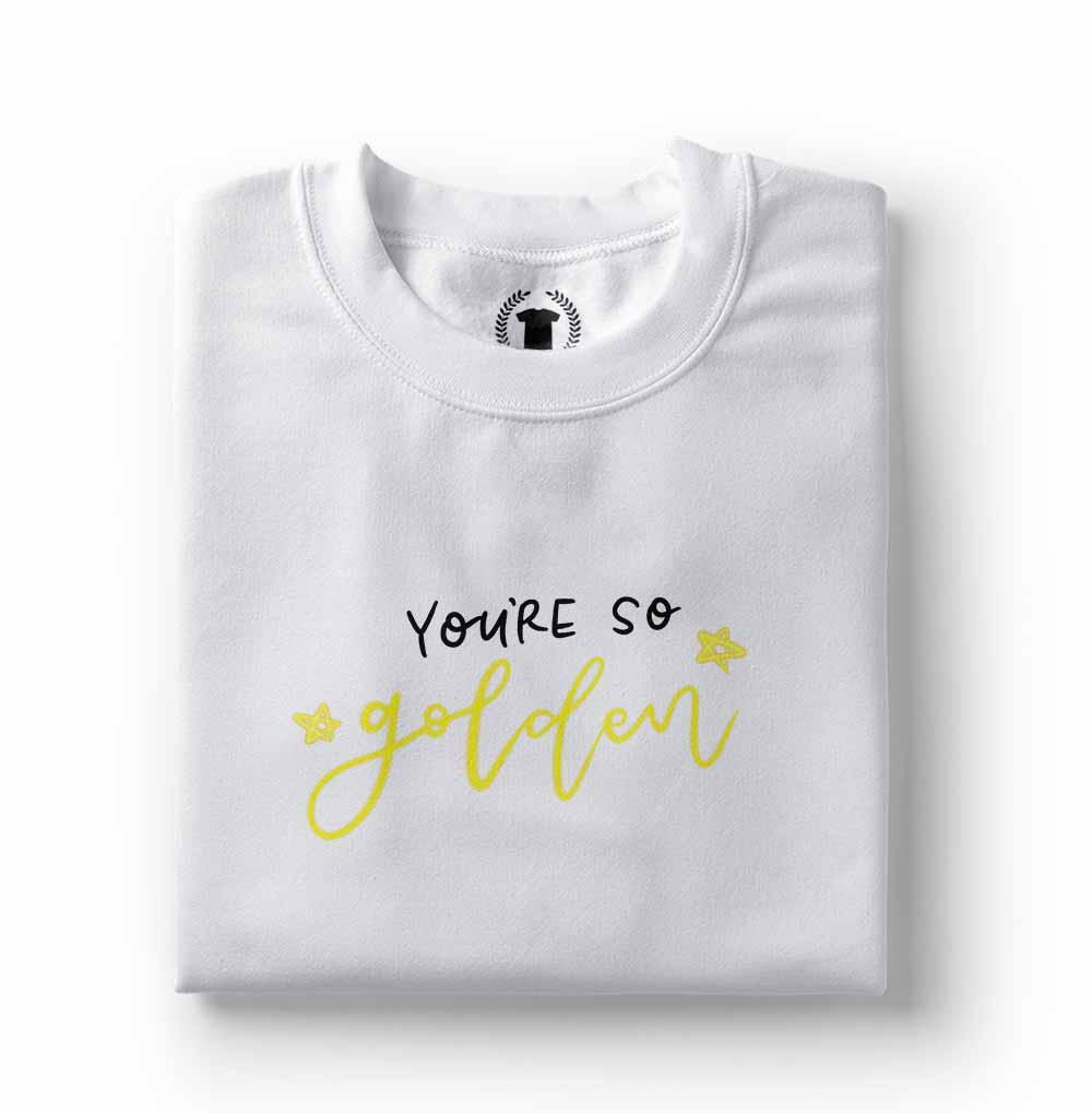 Tshirt Camiseta Harry Styles you are so golden branca