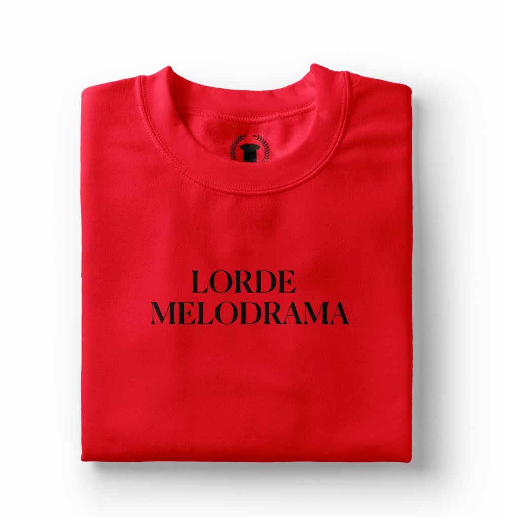 tshirt camiseta lorde melodrama vermelha