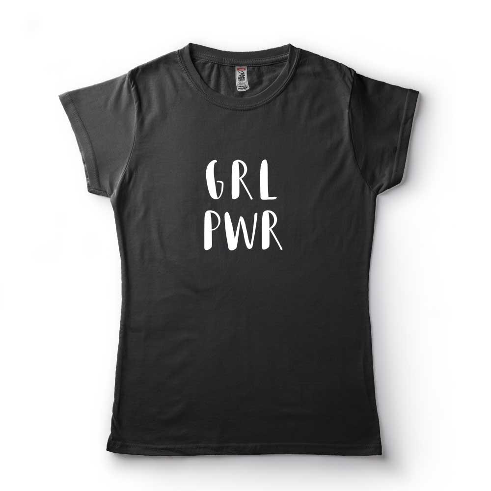 tshirt girl power grl pwr