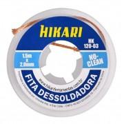 Fita Malha Dessoldadora Hk-120-03 1,5mx2mm No Clean Hikari