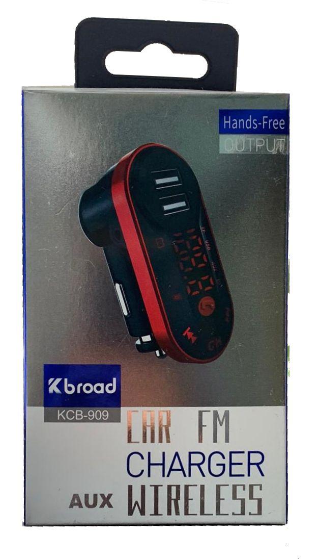 ADAPTADOR VEICULAR BROAD KCB-909 BLUETOOTH