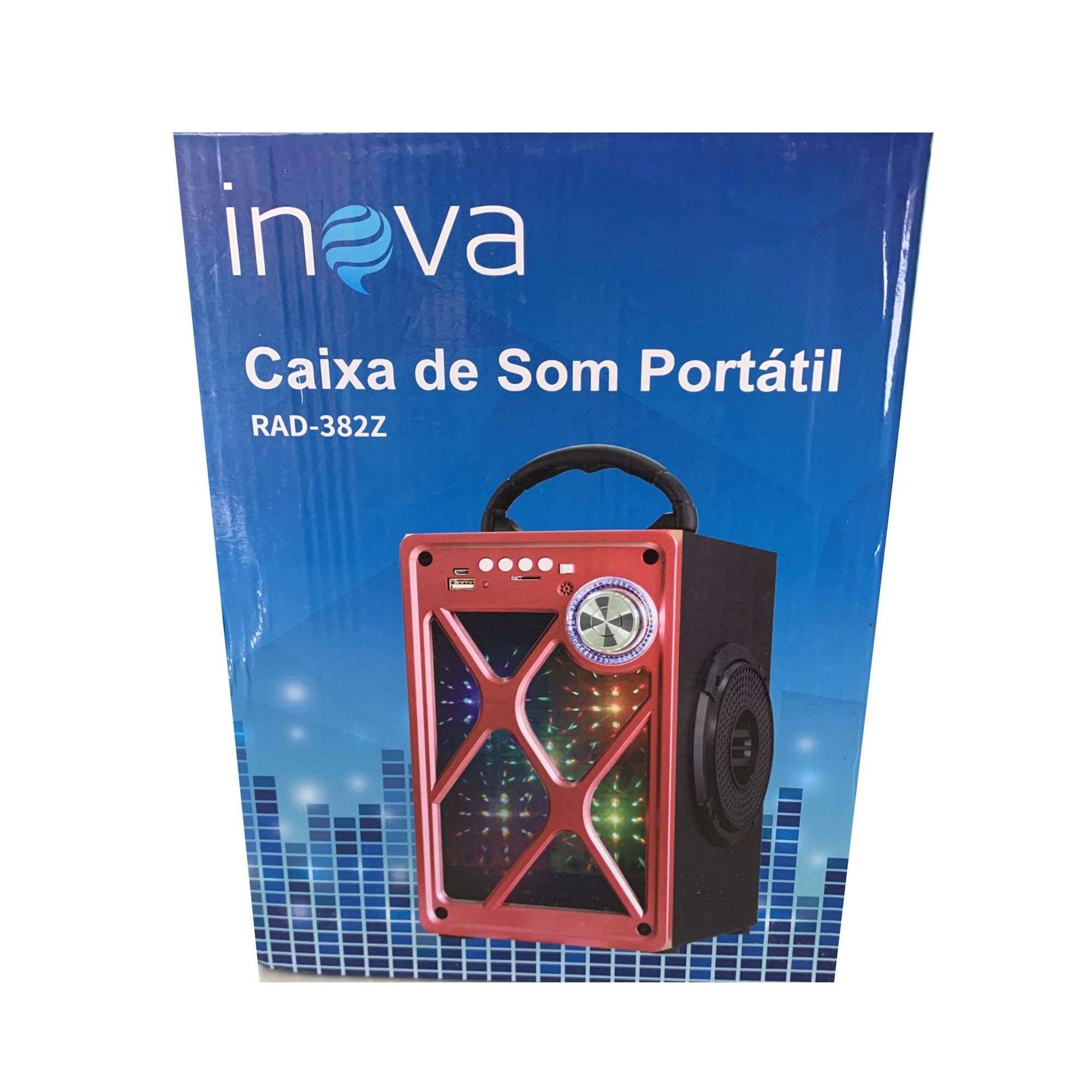 Caixa de som Inova RAD-382Z