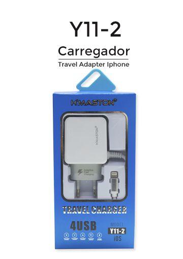 Carregador Celular Hmaston 4.8a Y11-2  Iphone