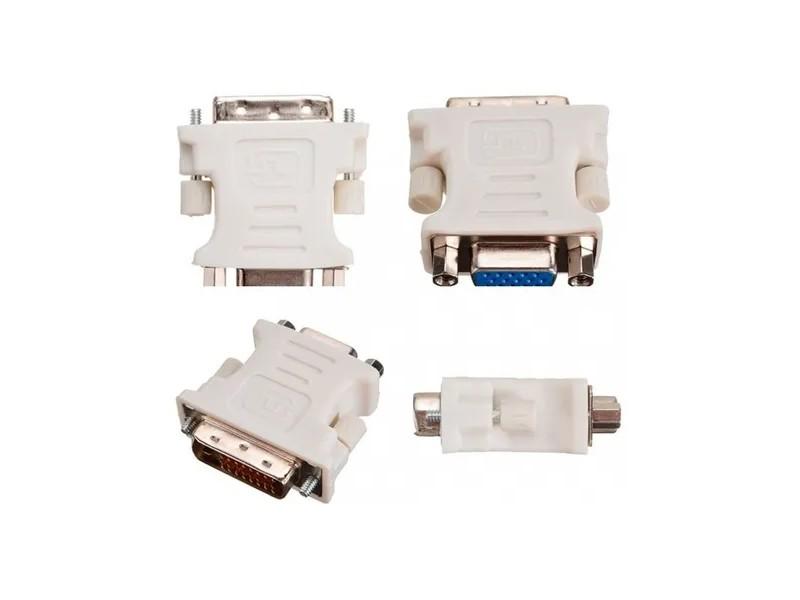 Adaptador DVI 24+5 Pinos Macho Para VGA 15 Pinos