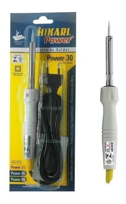 Ferro Soldar Hikari Power 30 127v