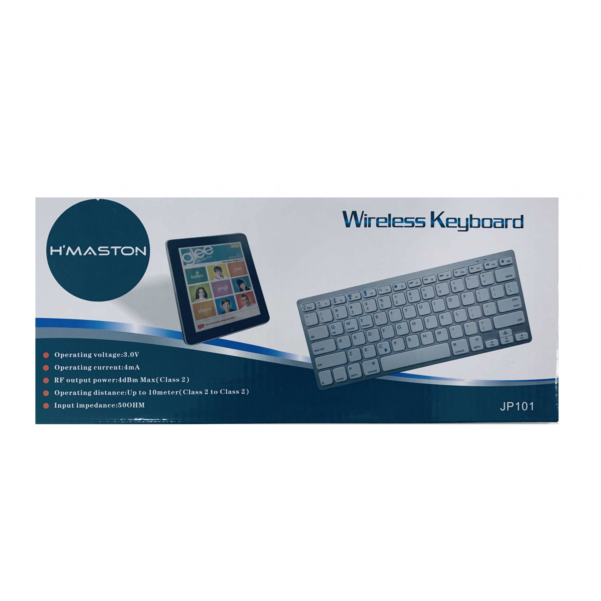 Teclado Bluetooth Hmaston
