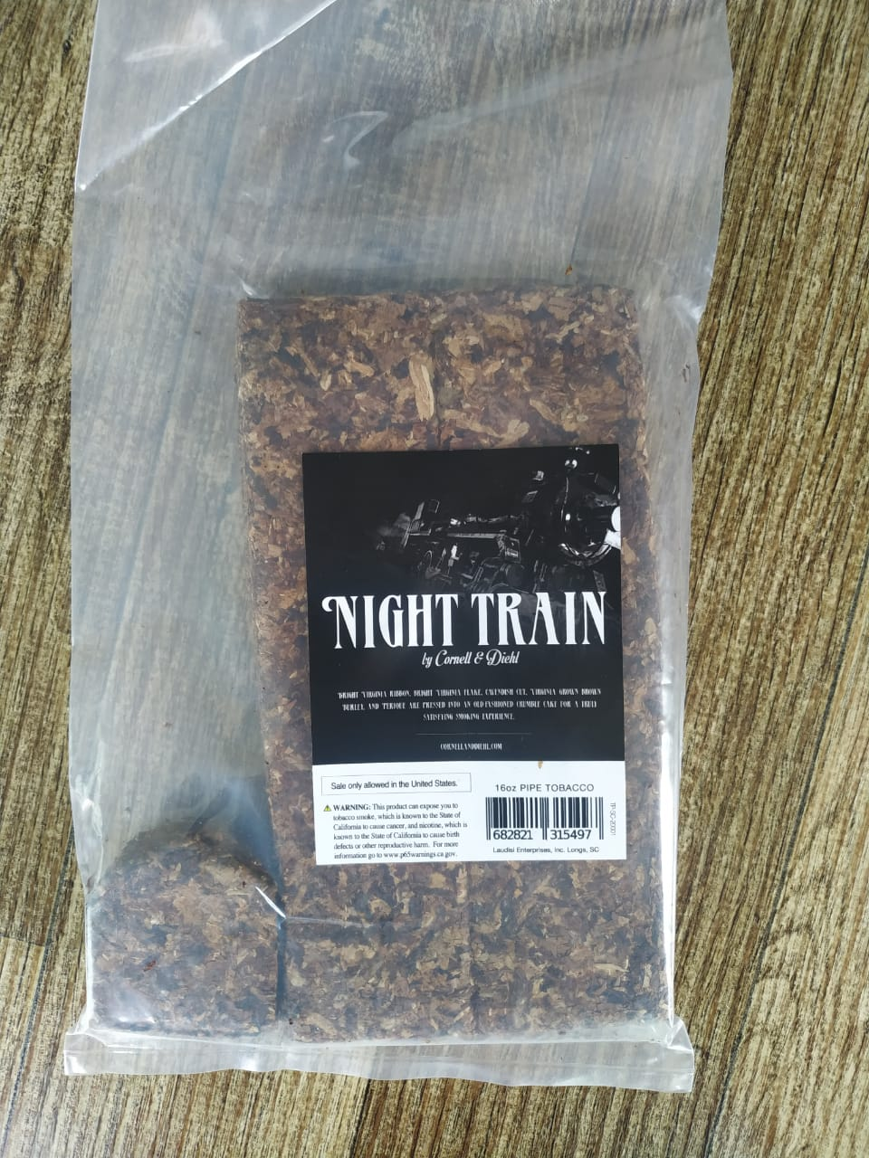 Cornell & Diehl - Night Train - Bulk 50g