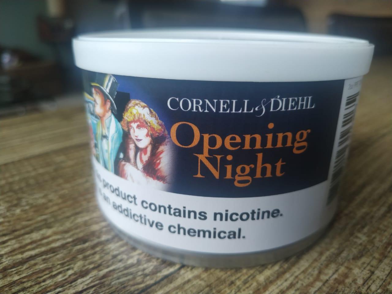 Cornell & Diehl - Opening Night