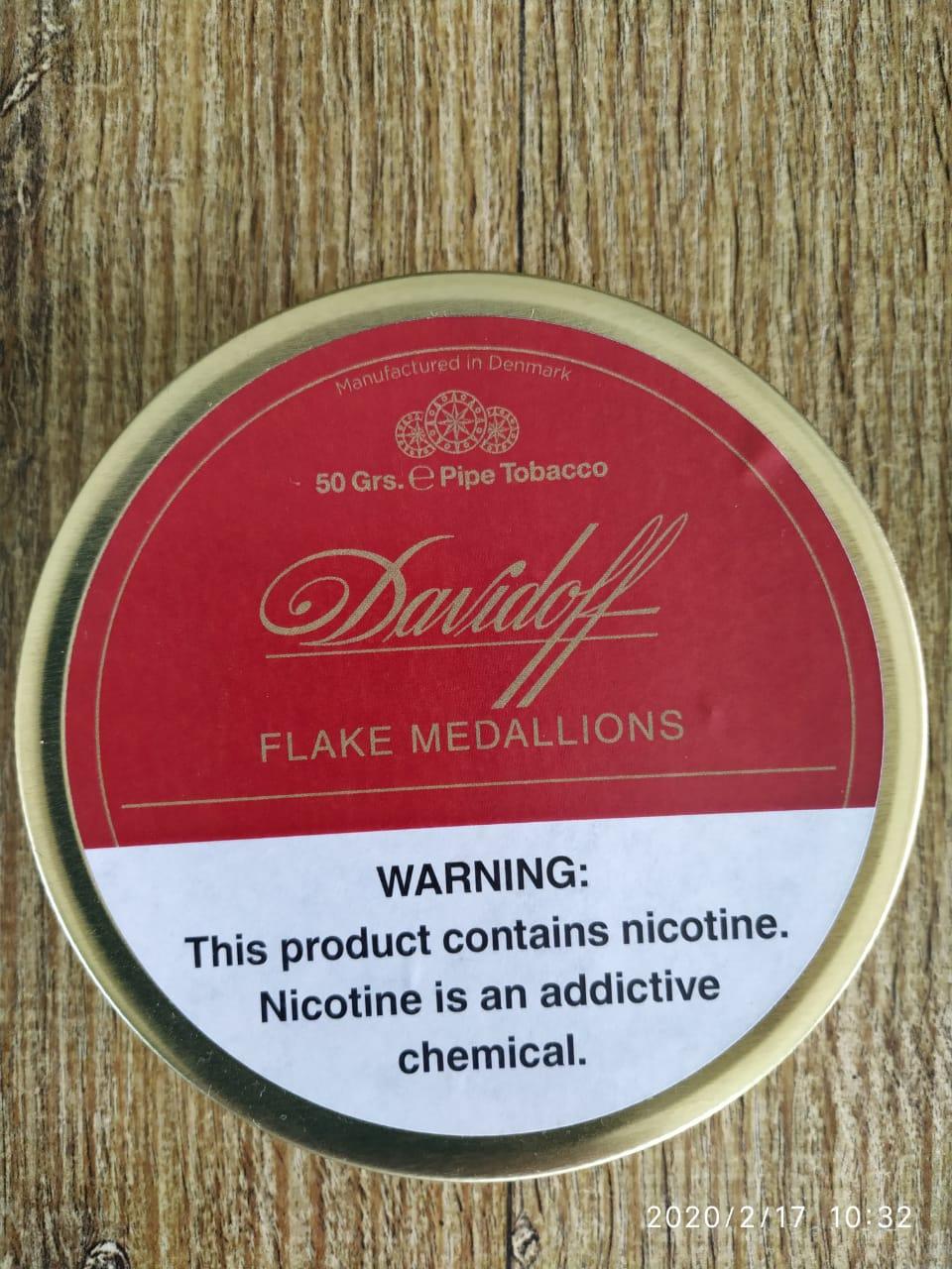 Davidoff - Flake Medallions