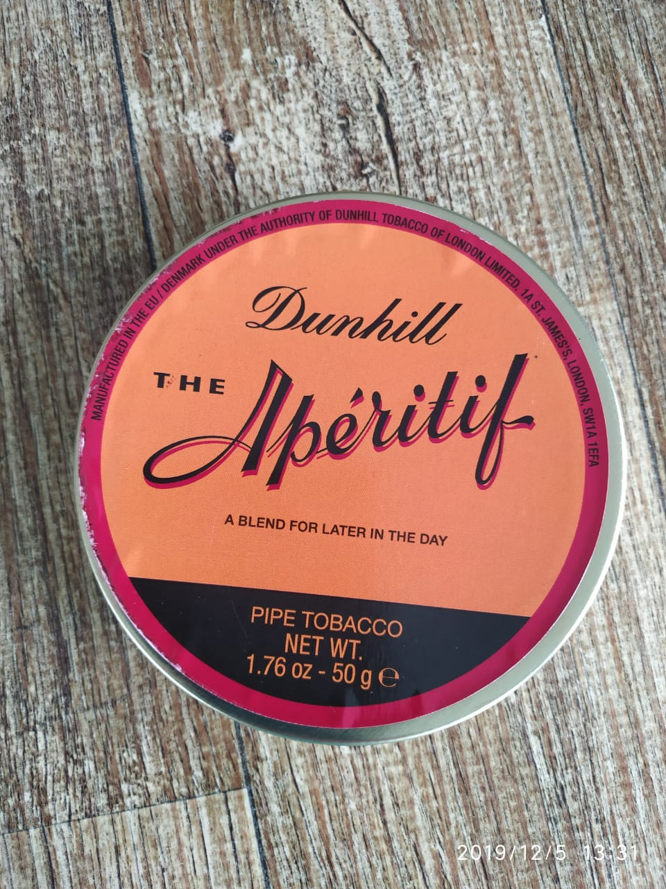 Dunhill - Aperitif