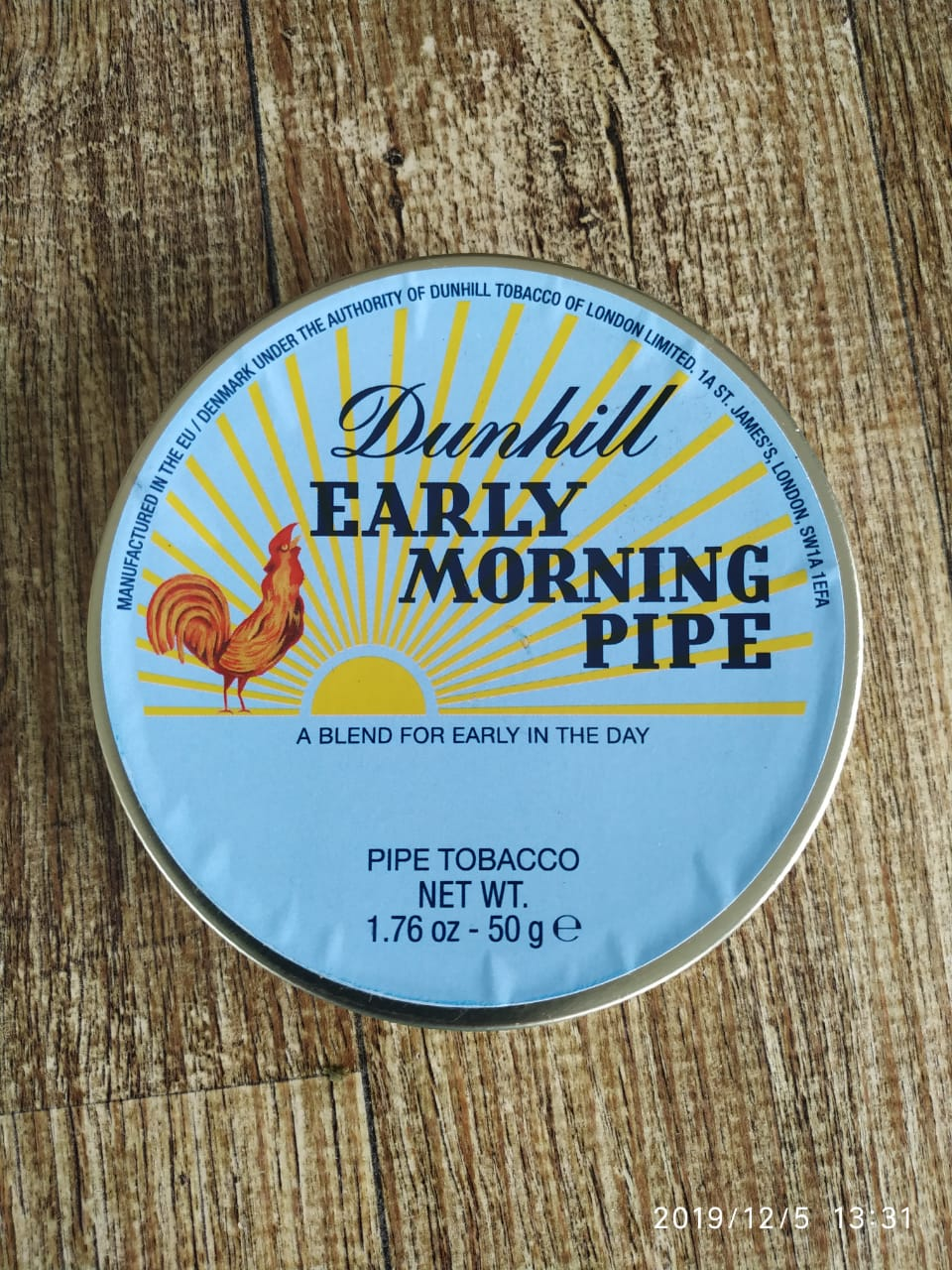 Dunhill - Early Morning Pipe