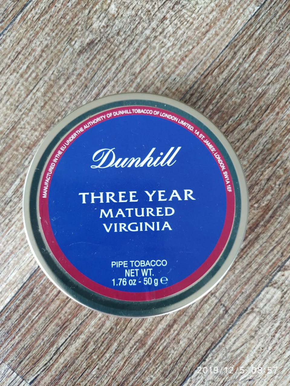 Dunhill - Three Year Matured Virginia