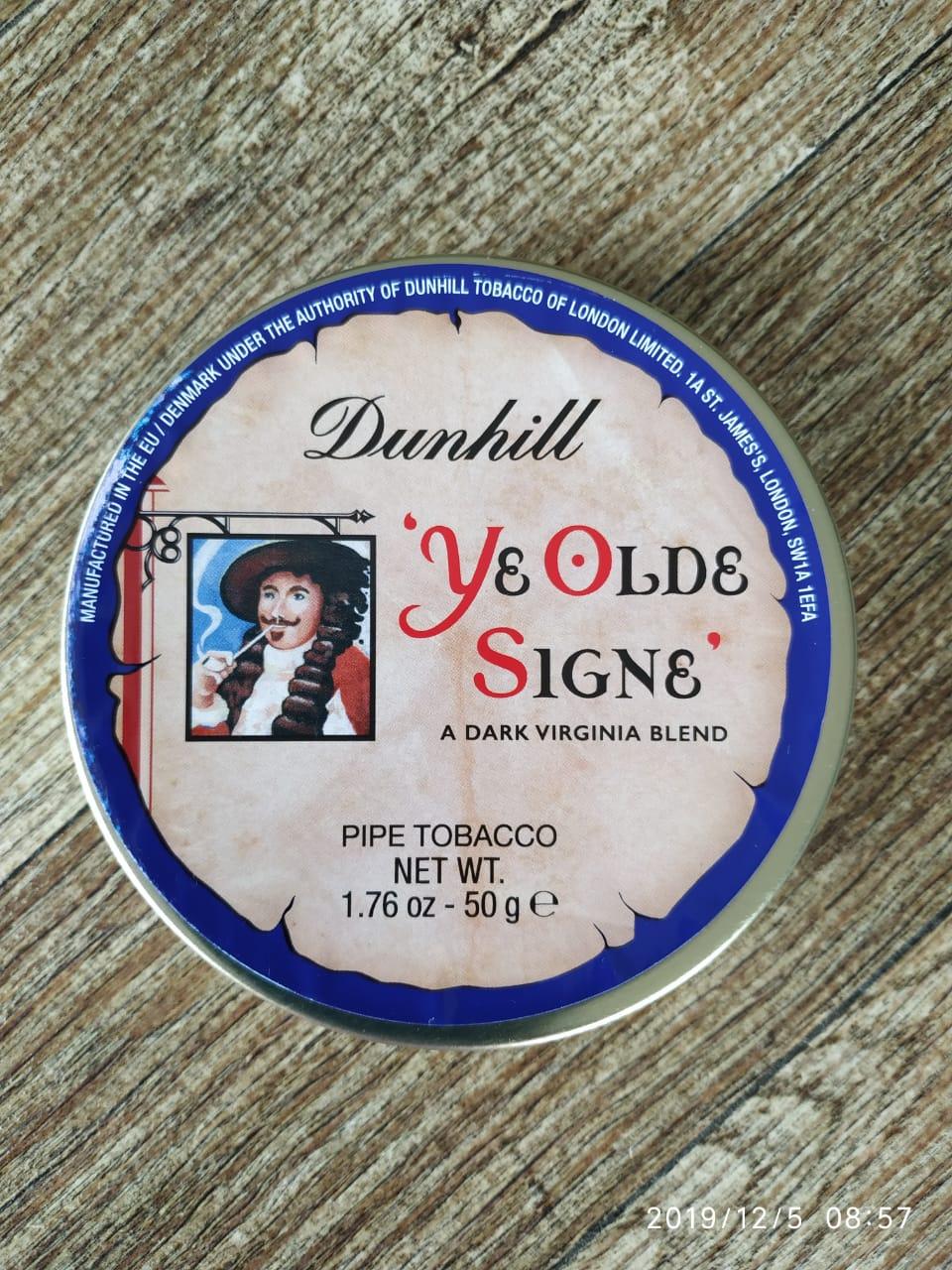 Dunhill - Ye Olde Signe