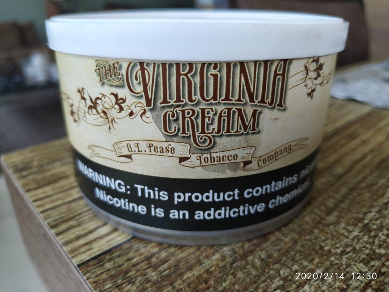 G. L.  Pease - Virginia Cream