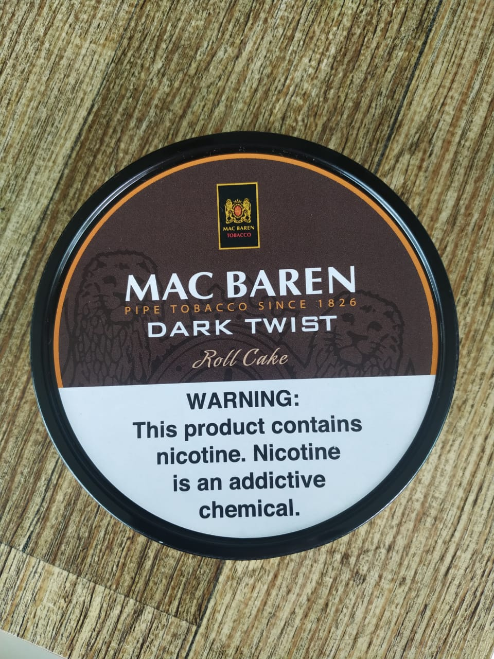 MC Baren - Dark Twist Roll Cake 100g