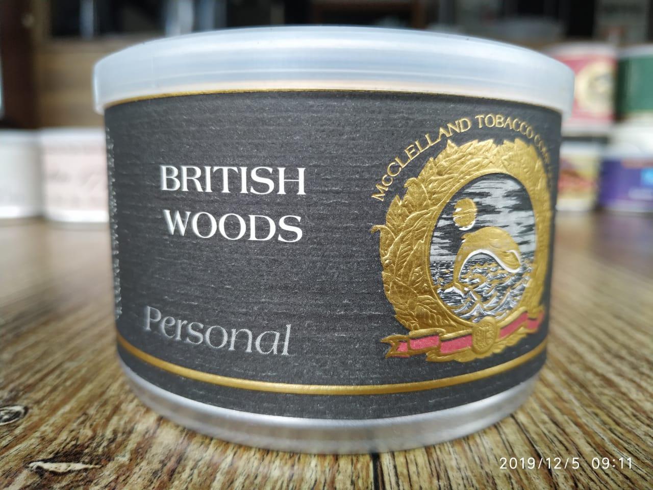 McClelland - British Woods (Personal Reserve)