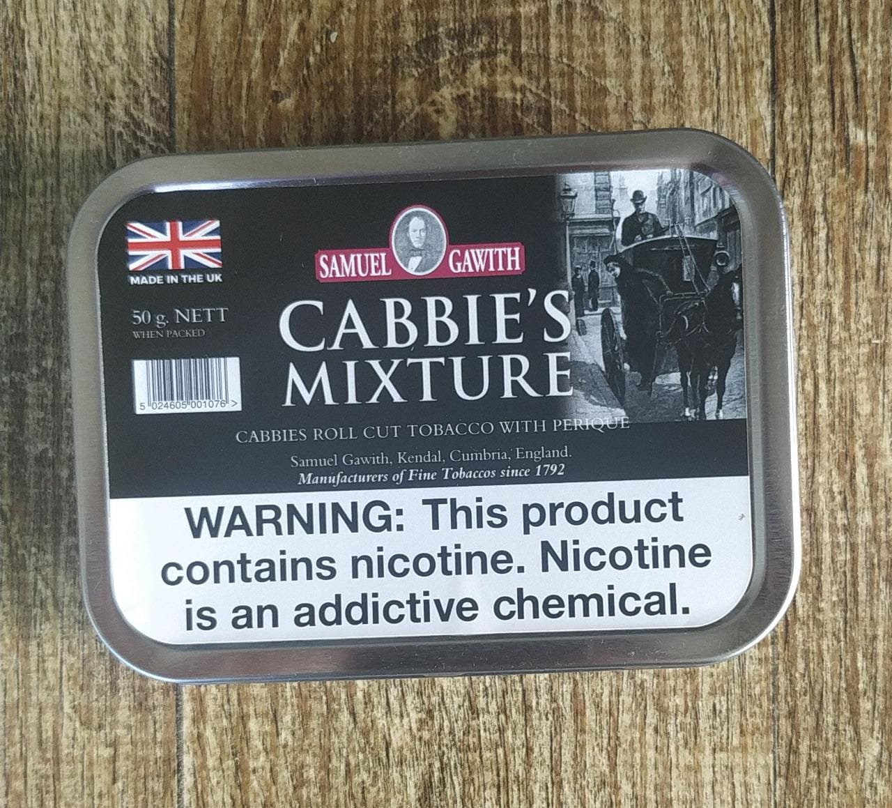 Samuel Gawith - Cabbie's Mixture