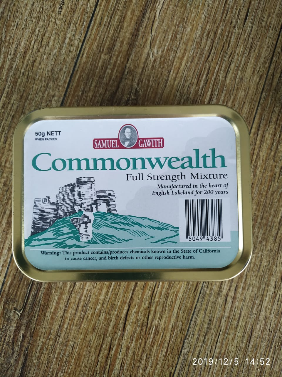 Samuel Gawith - Commonwealth Mixture