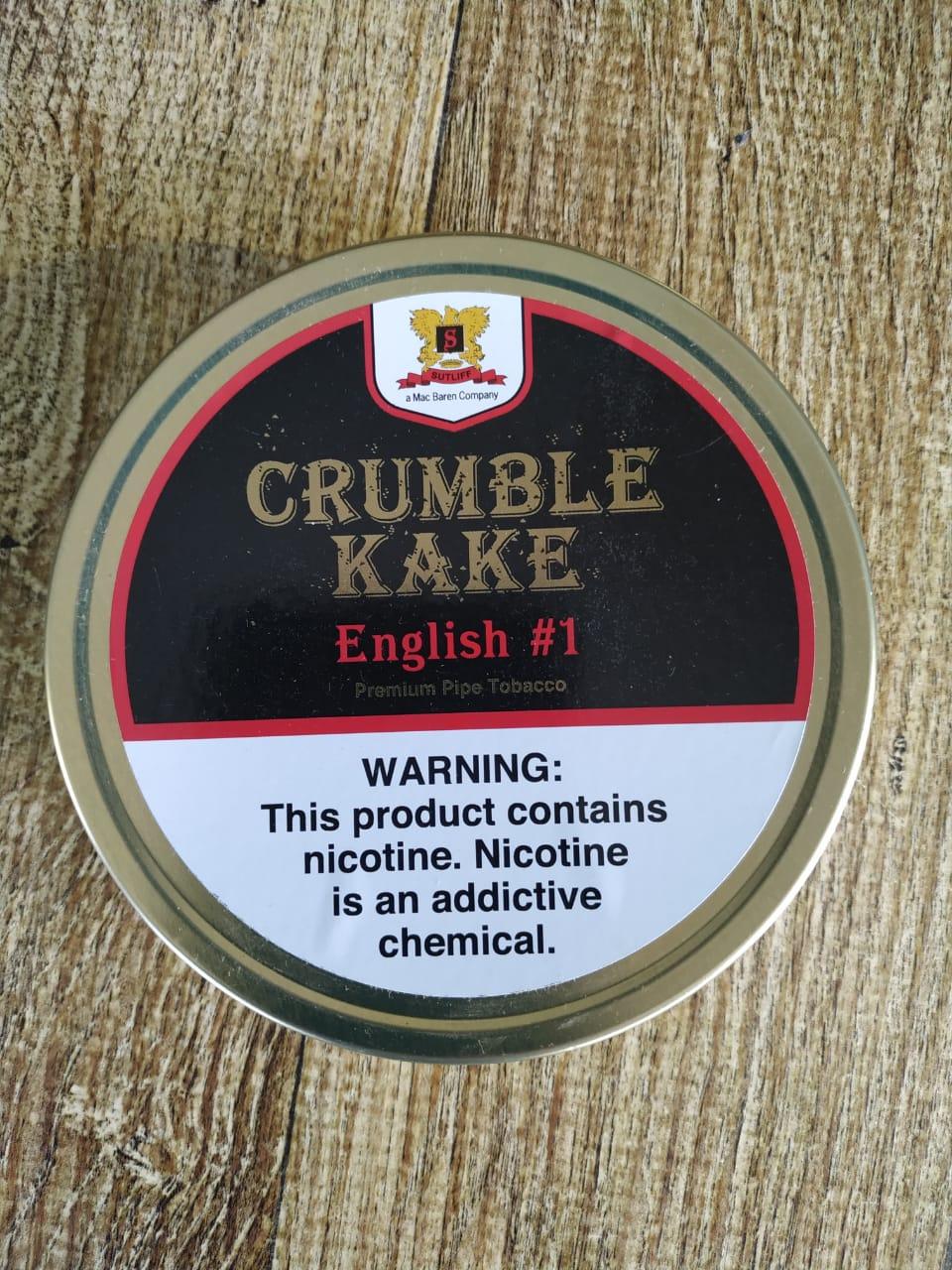 Sutliff Tobacco Company - Crumble Kake English #1