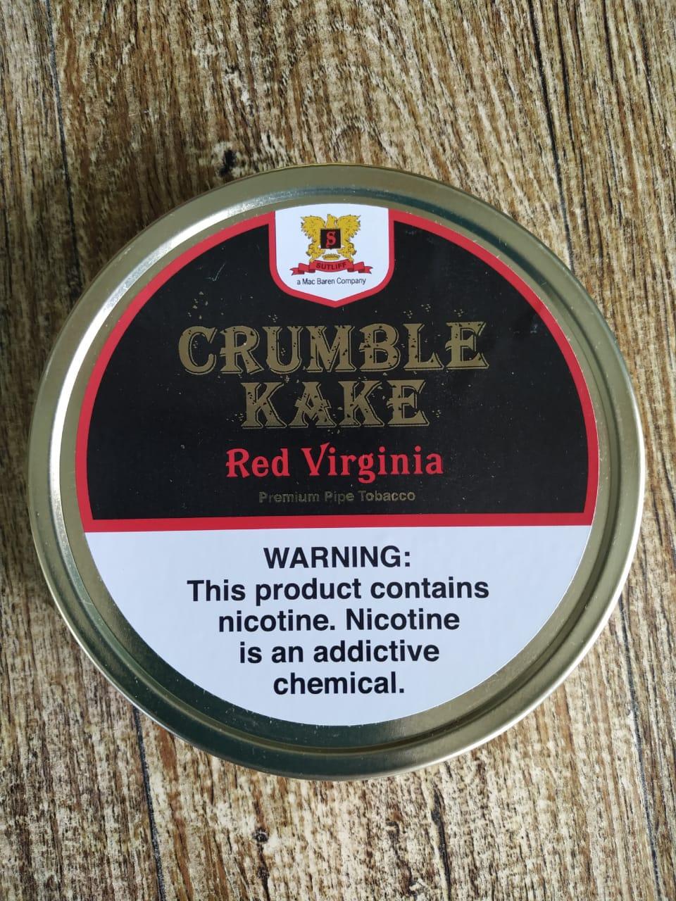 Sutliff Tobacco Company - Crumble Kake Red Virginia