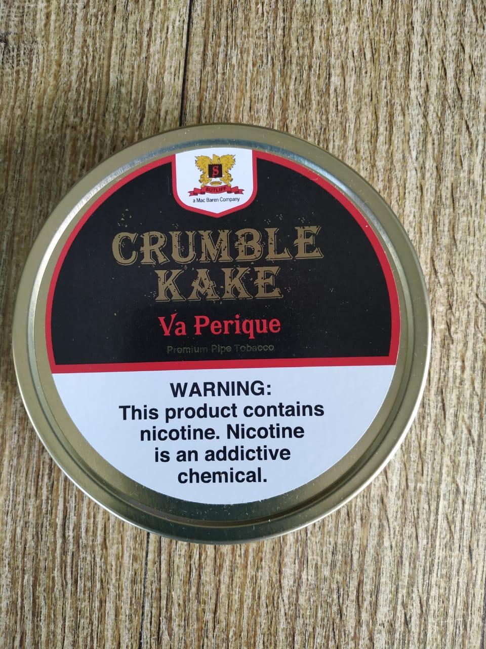 Sutliff Tobacco Company - Crumble Kake Va. Perique